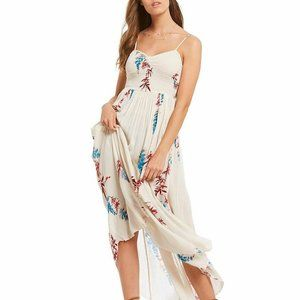 Intimately Free People Beau Printed Boho Dress L